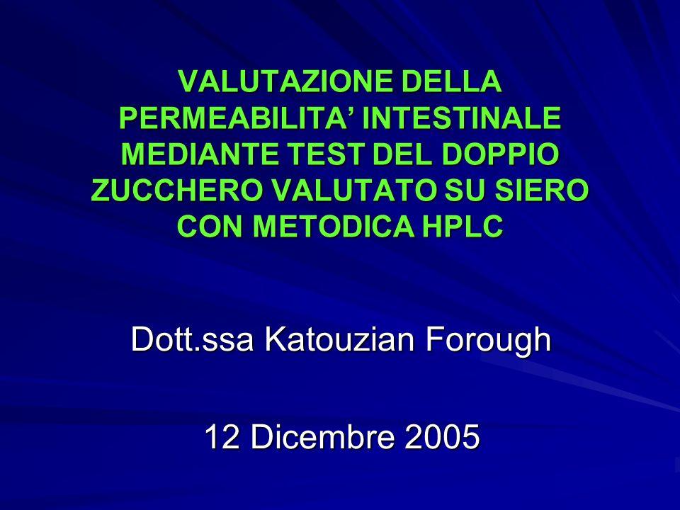 Dott.ssa Katouzian Forough 12 Dicembre 2005