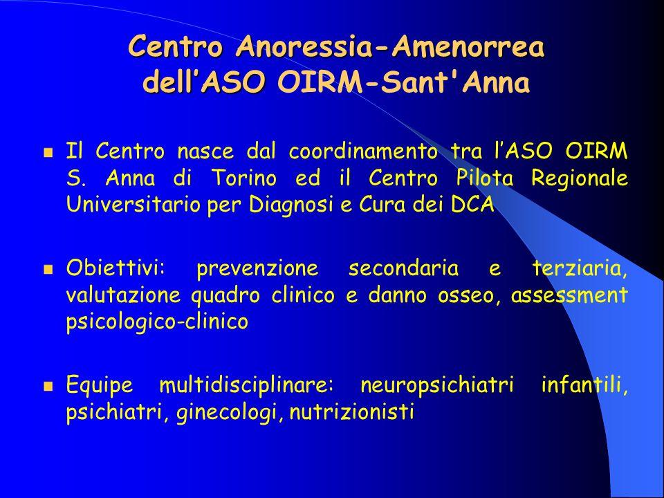 Centro Anoressia-Amenorrea dell'ASO OIRM-Sant Anna