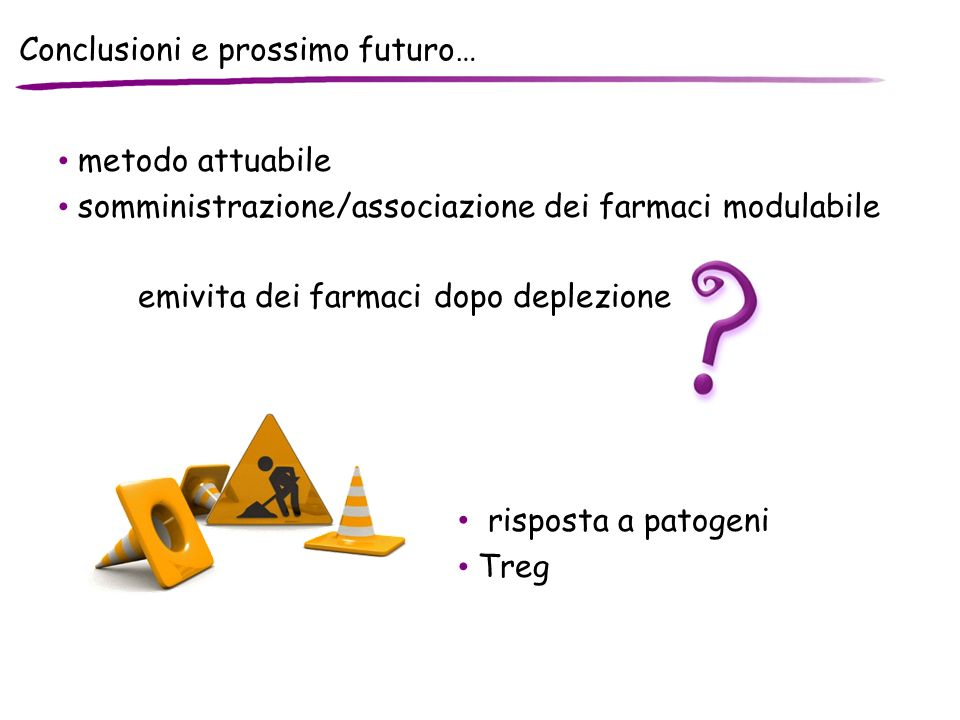 Conclusioni e prossimo futuro…