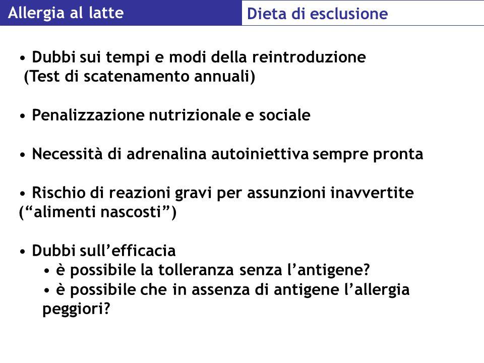 Penalizzazione nutrizionale e sociale