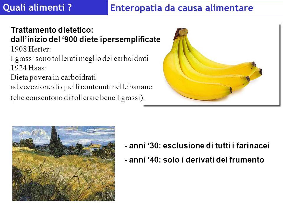 Enteropatia da causa alimentare