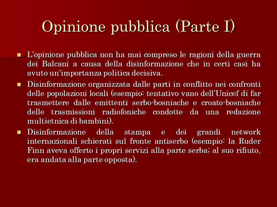 Opinione pubblica (Parte I)