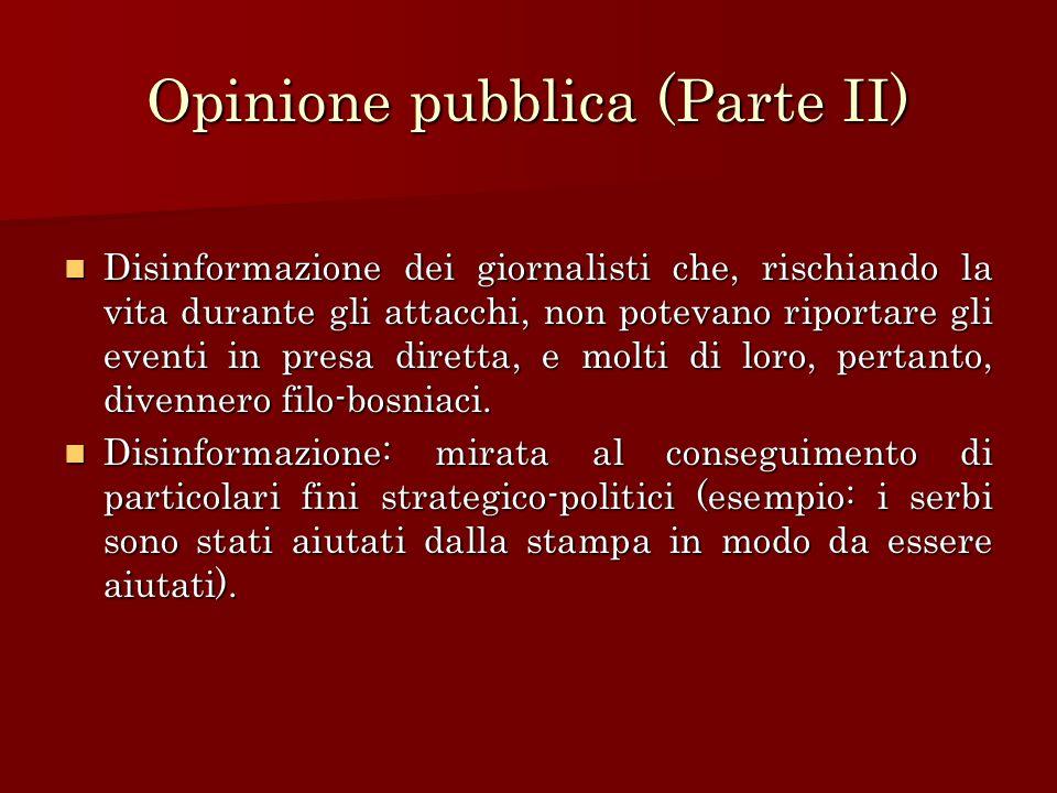 Opinione pubblica (Parte II)