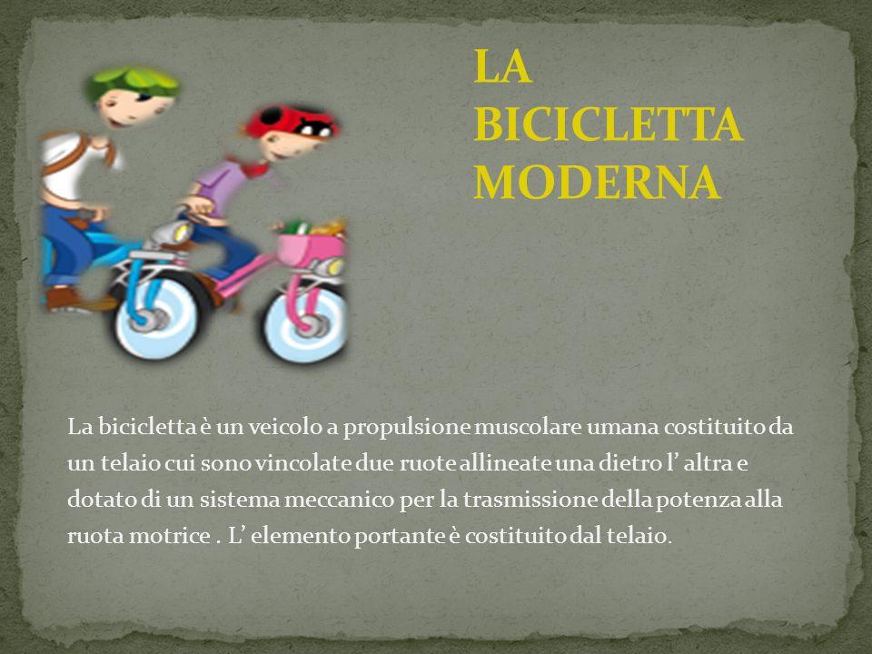 LA BICICLETTA MODERNA