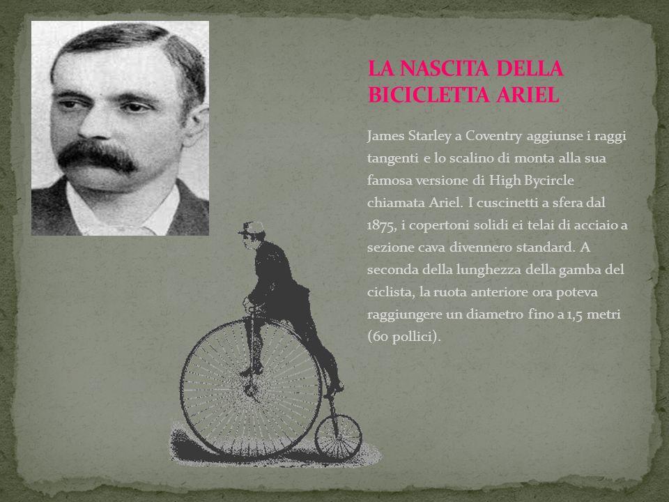 LA NASCITA DELLA BICICLETTA ARIEL