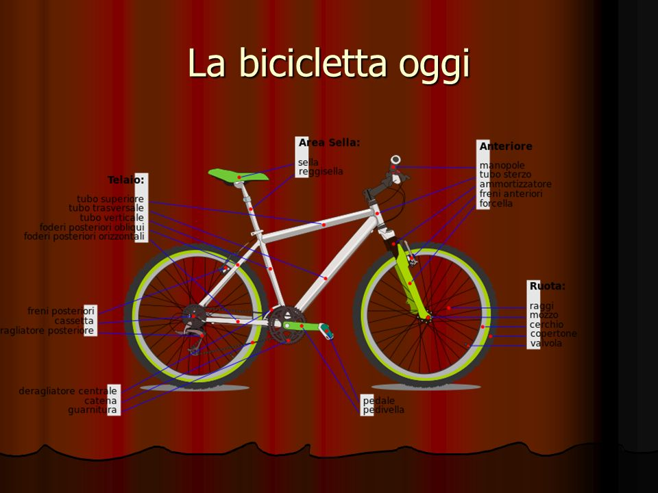 La bicicletta oggi