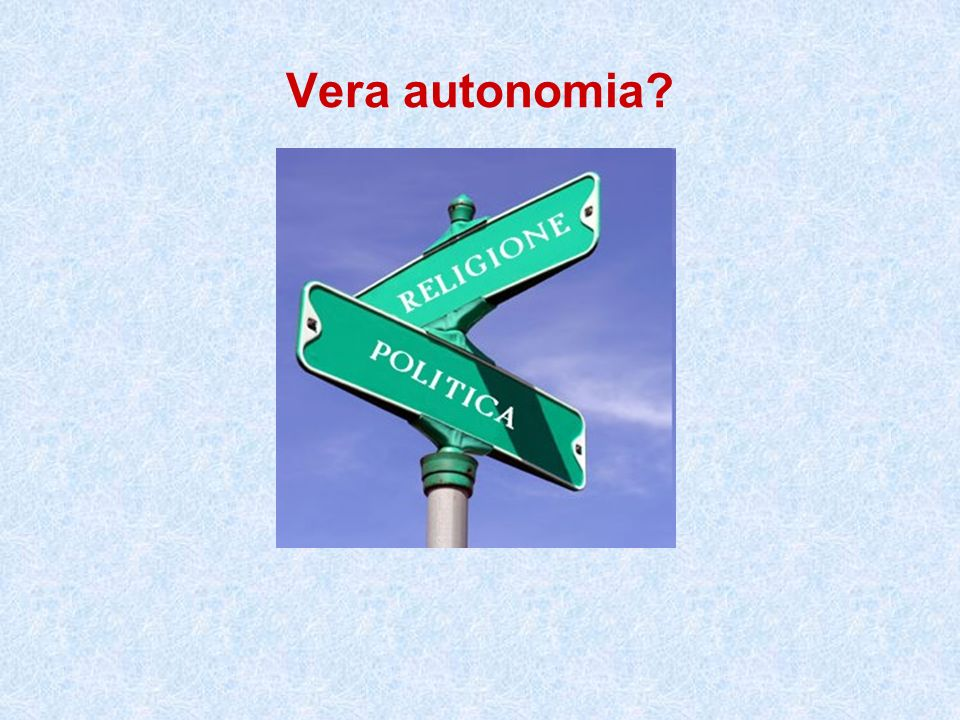Vera autonomia