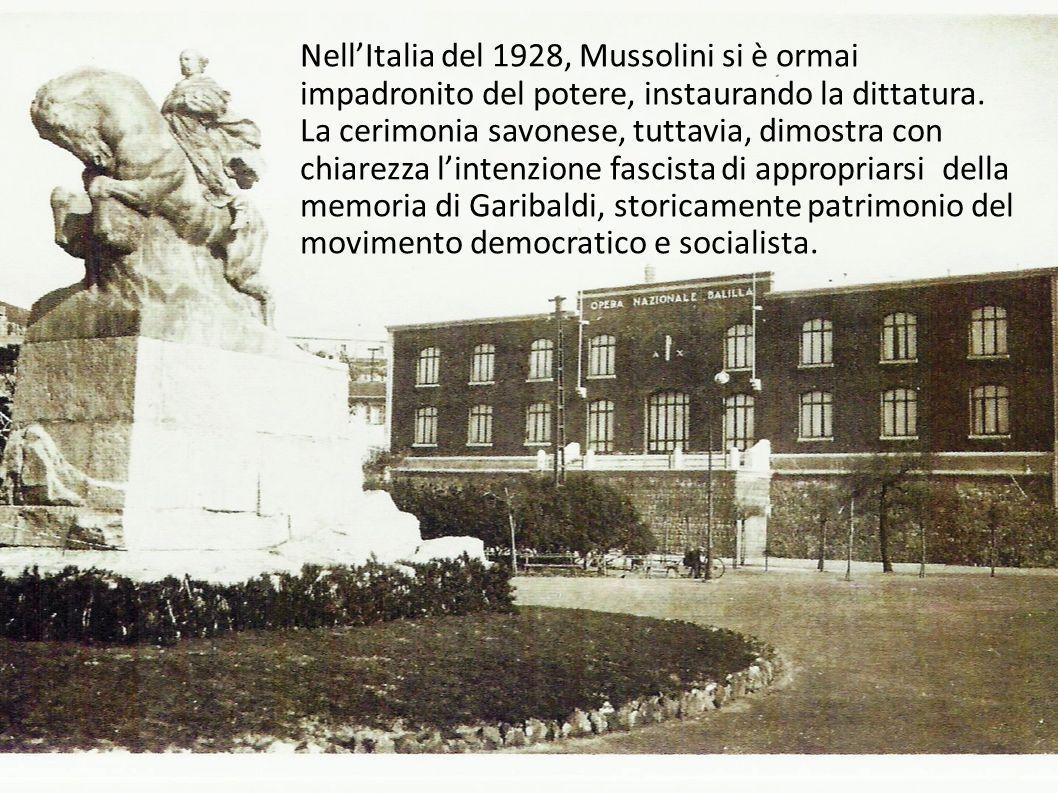 Nell'Italia del 1928, Mussolini si è ormai impadronito del potere, instaurando la dittatura.