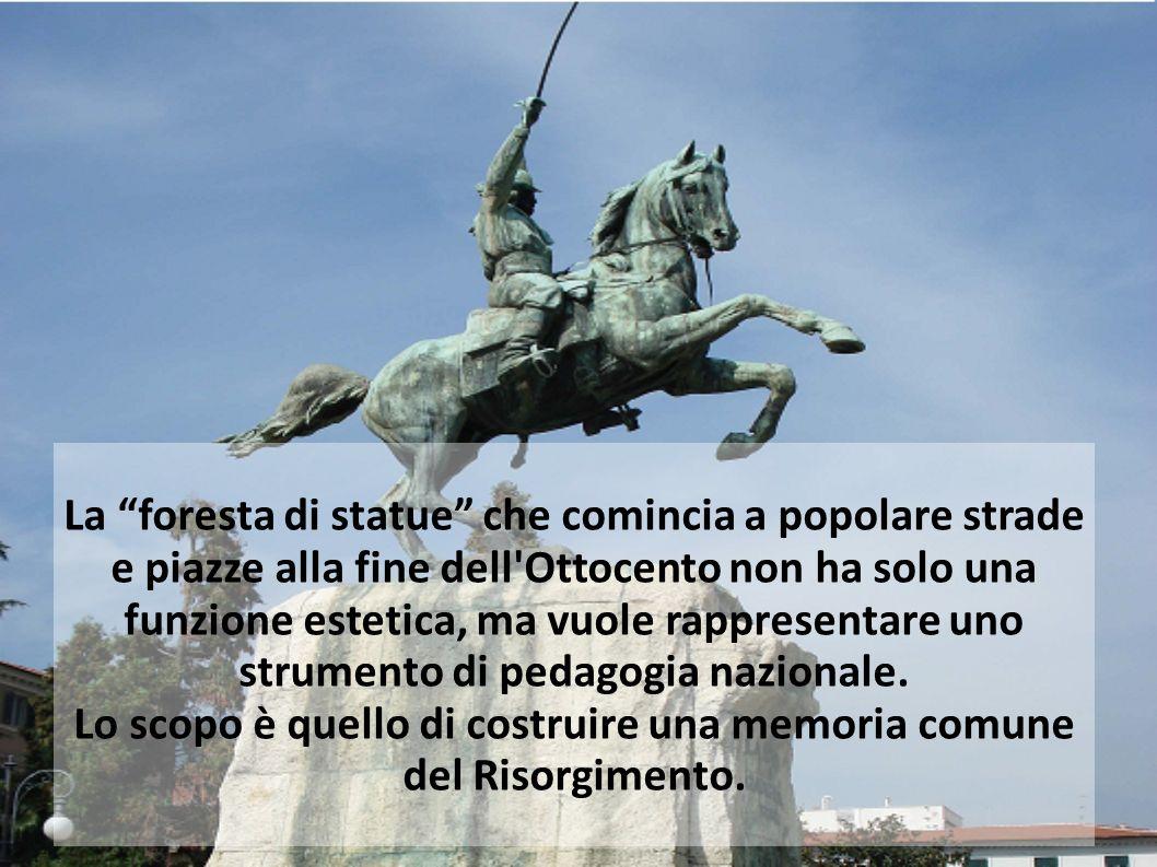 Lo scopo è quello di costruire una memoria comune del Risorgimento.