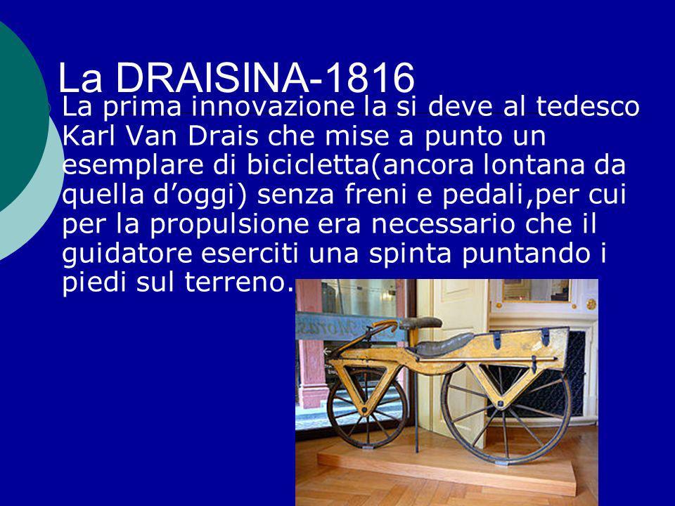 La DRAISINA-1816