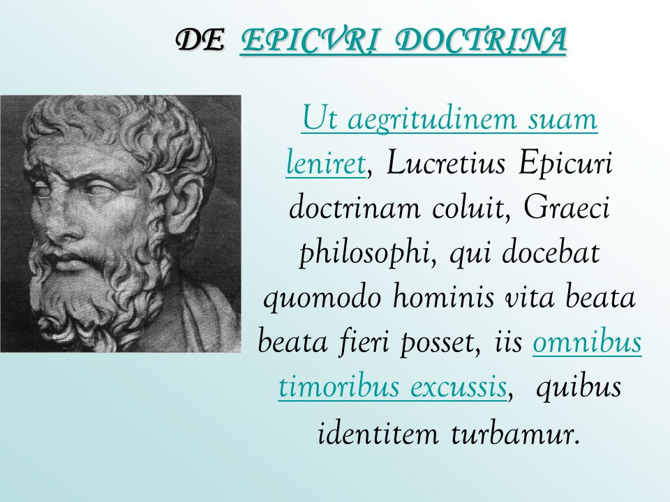 DE EPICVRI DOCTRINA