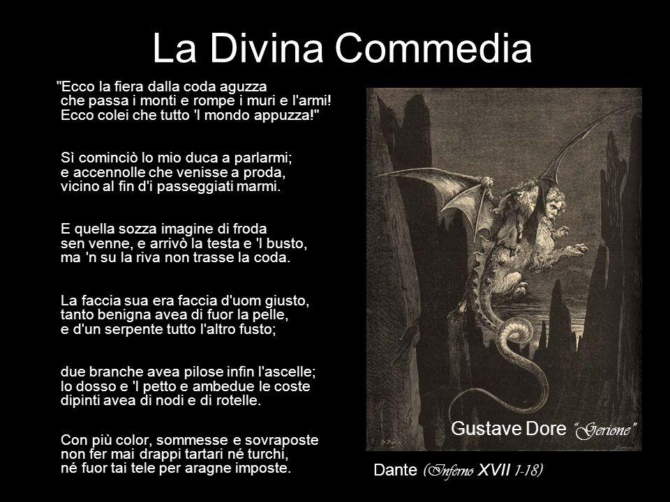 La Divina Commedia Gustave Dore Gerione Dante (Inferno XVII 1-18)