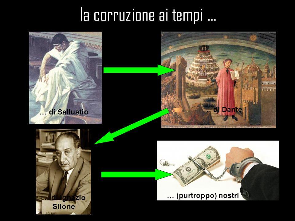 la corruzione ai tempi …