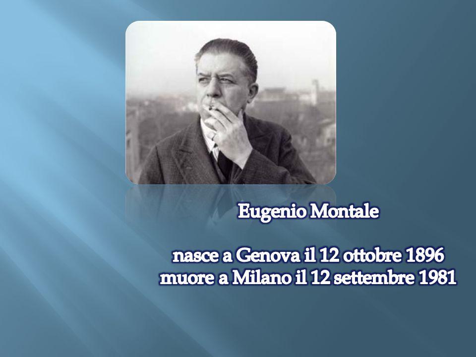 nasce a Genova il 12 ottobre 1896 muore a Milano il 12 settembre 1981
