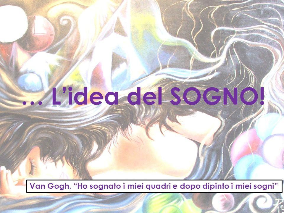 … L'idea del SOGNO! Van Gogh, Ho sognato i miei quadri e dopo dipinto i miei sogni