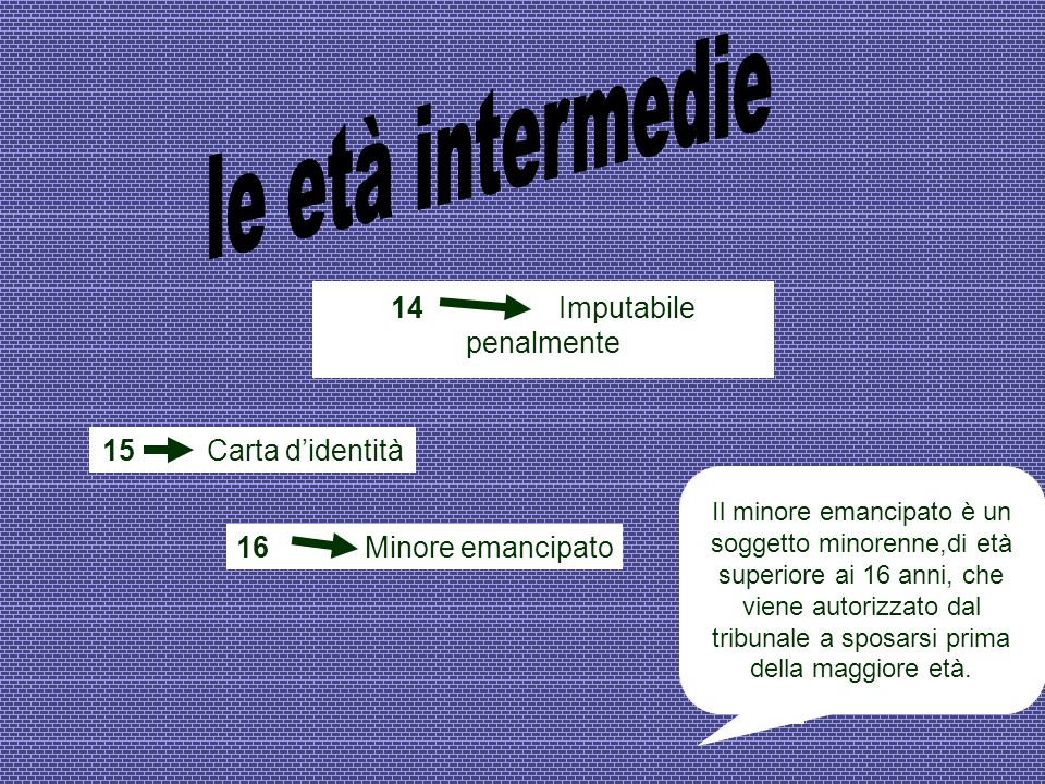 14 Imputabile penalmente