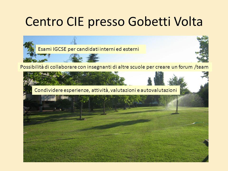 Centro CIE presso Gobetti Volta