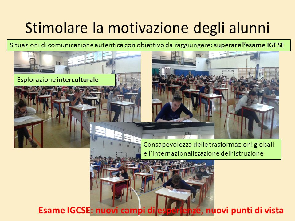 Stimolare la motivazione degli alunni