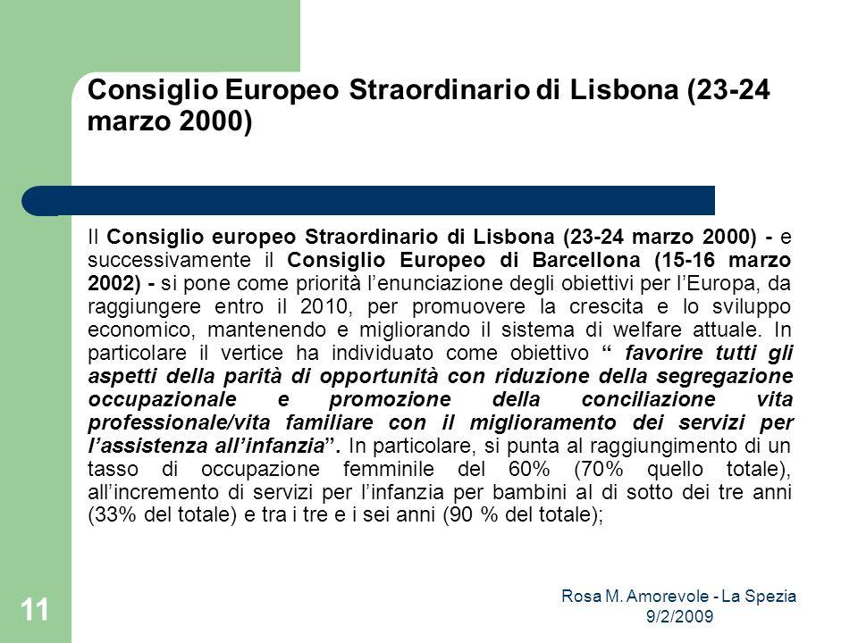Consiglio Europeo Straordinario di Lisbona (23-24 marzo 2000)