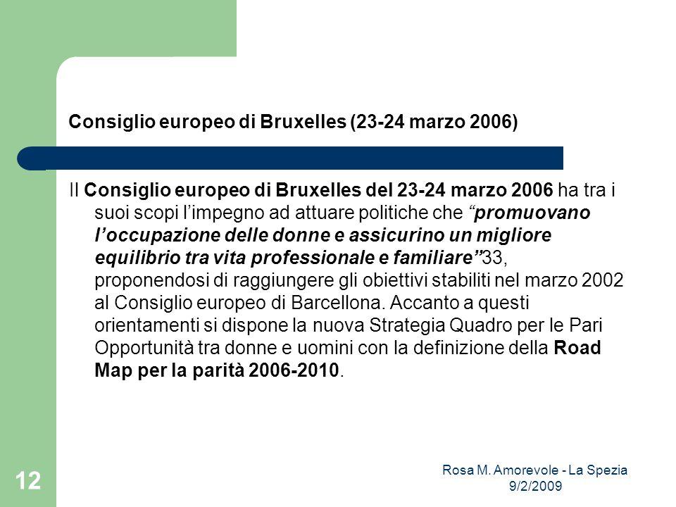 Consiglio europeo di Bruxelles (23-24 marzo 2006)