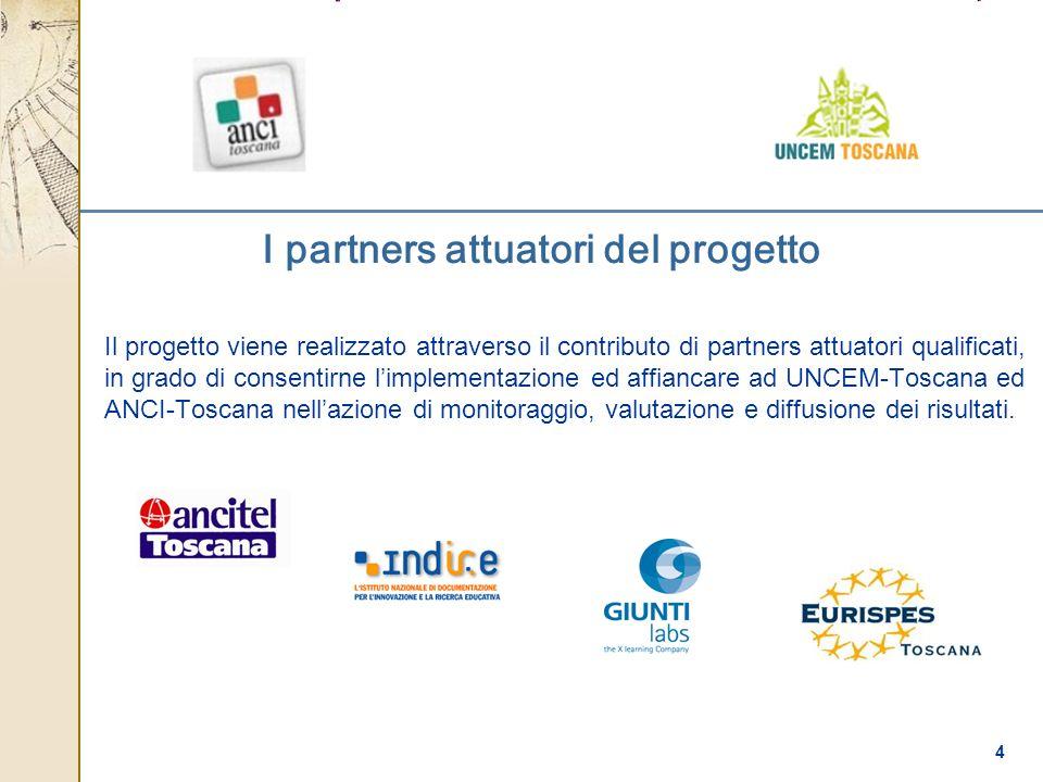 I partners attuatori del progetto
