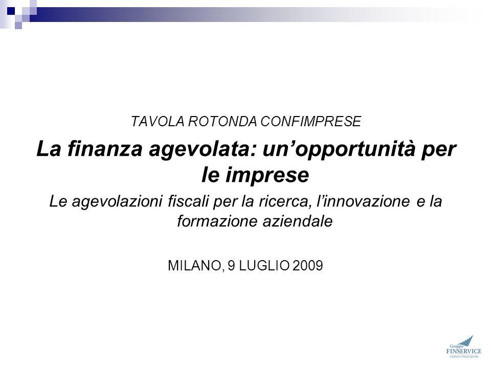 La finanza agevolata: un'opportunità per le imprese
