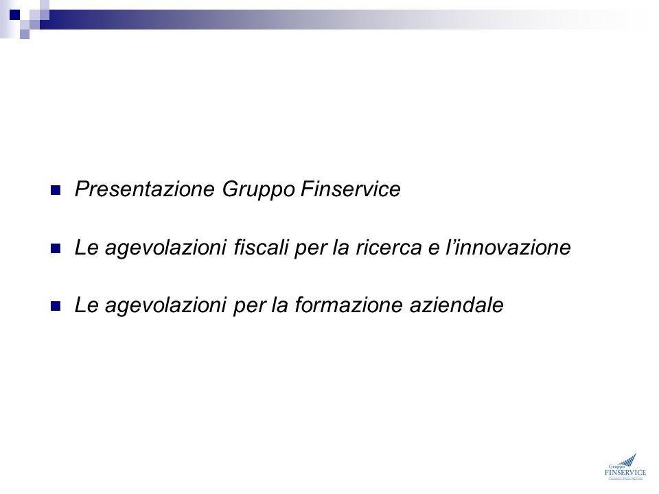 Presentazione Gruppo Finservice
