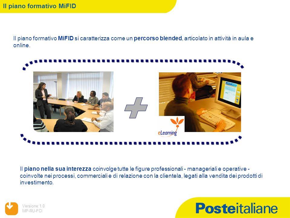 + Il piano formativo MiFID