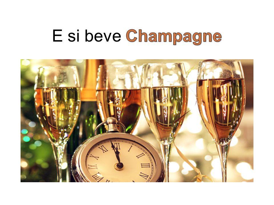 E si beve Champagne