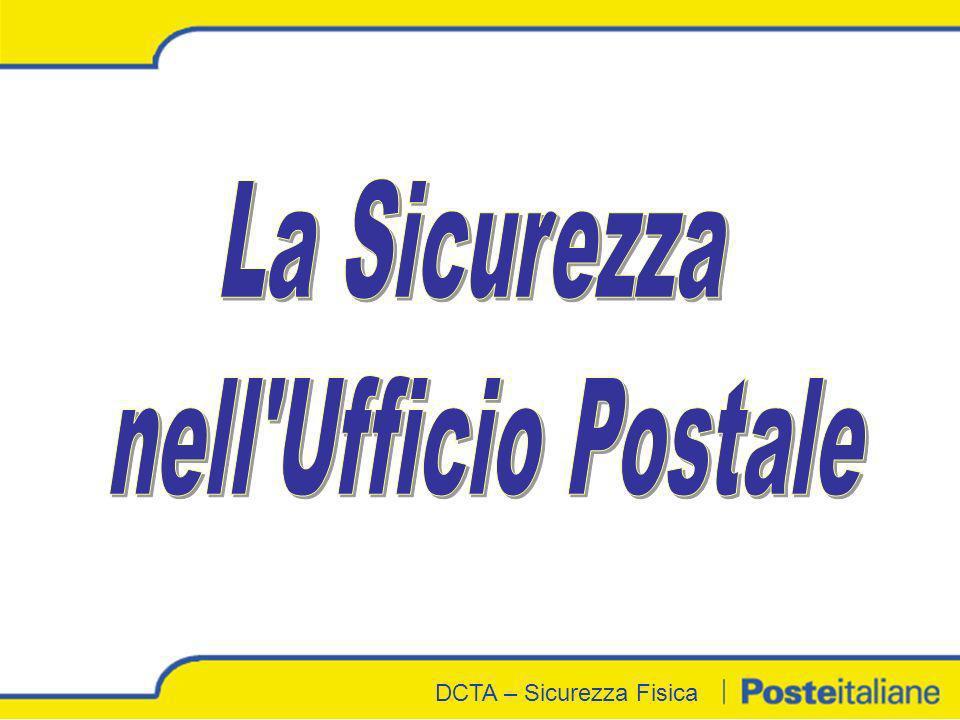 La Sicurezza nell Ufficio Postale