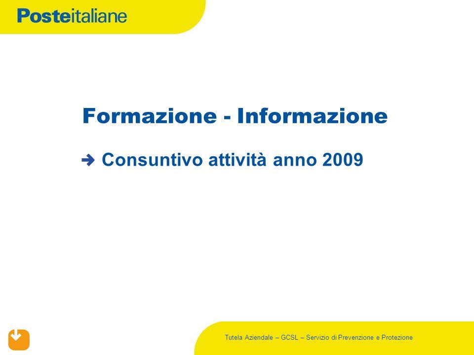 Formazione - Informazione