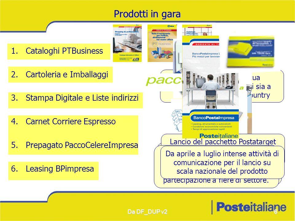 Prodotti in gara Cataloghi PTBusiness Cartoleria e Imballaggi