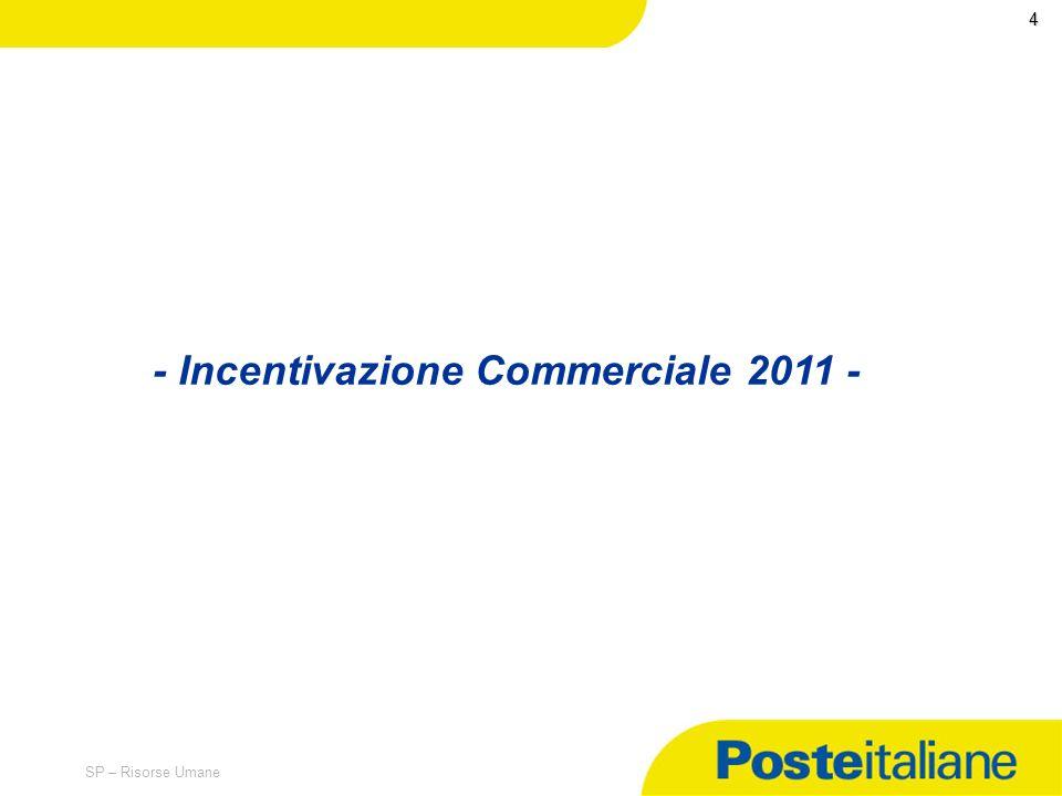 - Incentivazione Commerciale 2011 -