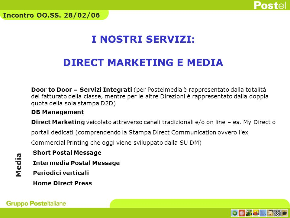 DIRECT MARKETING E MEDIA