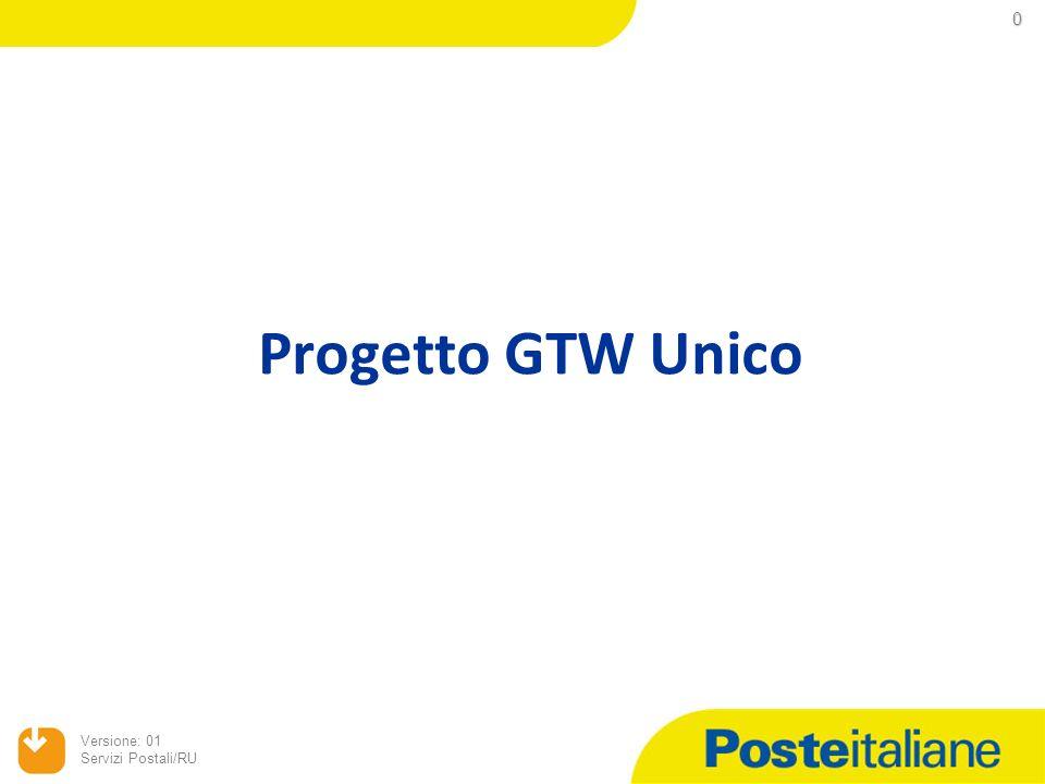 Progetto GTW Unico