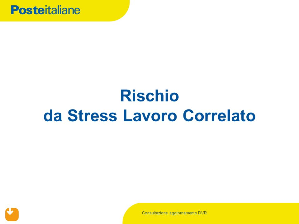 Rischio da Stress Lavoro Correlato