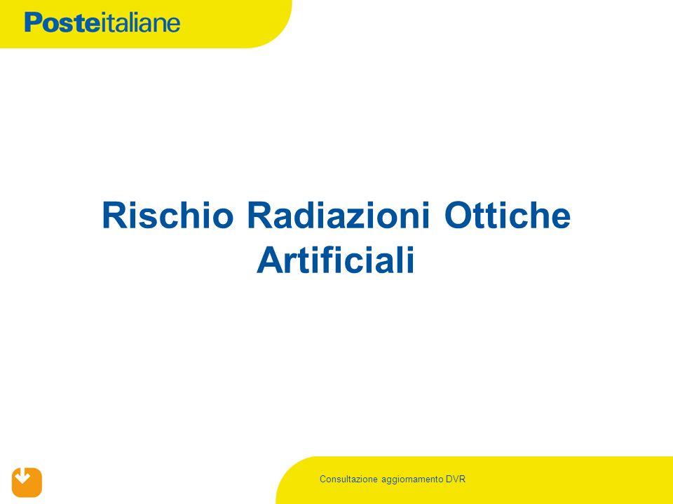 Rischio Radiazioni Ottiche Artificiali