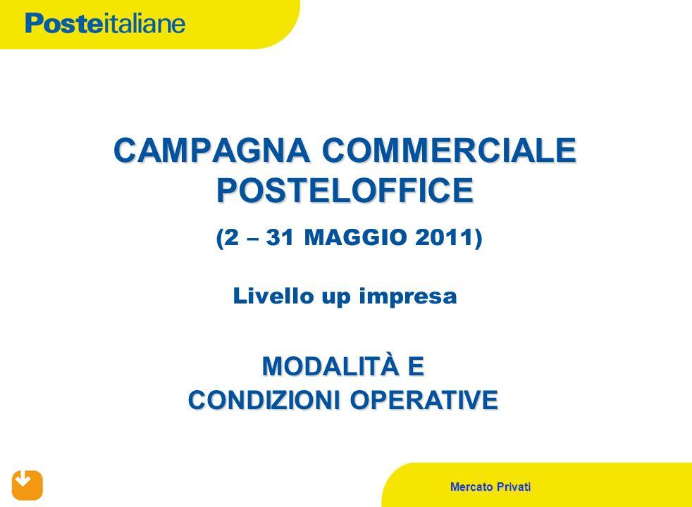 CAMPAGNA COMMERCIALE POSTELOFFICE (2 – 31 MAGGIO 2011) Livello up impresa