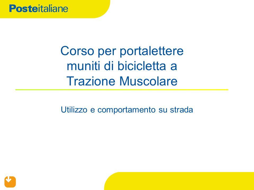 Corso per portalettere muniti di bicicletta a Trazione Muscolare
