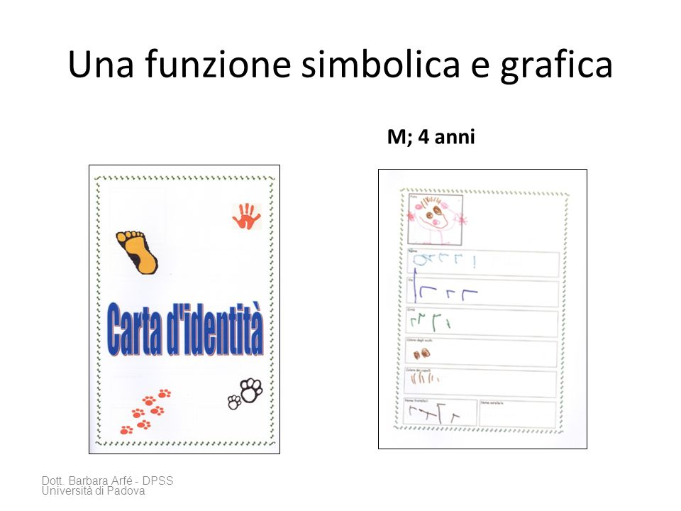 Una funzione simbolica e grafica