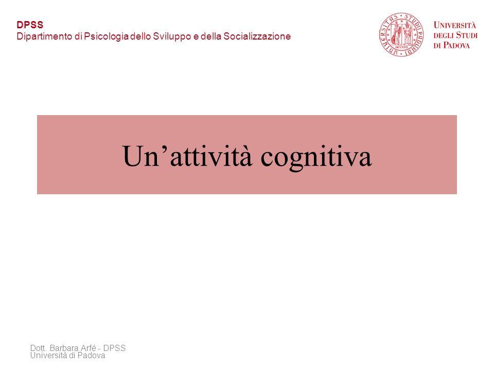 Un'attività cognitiva