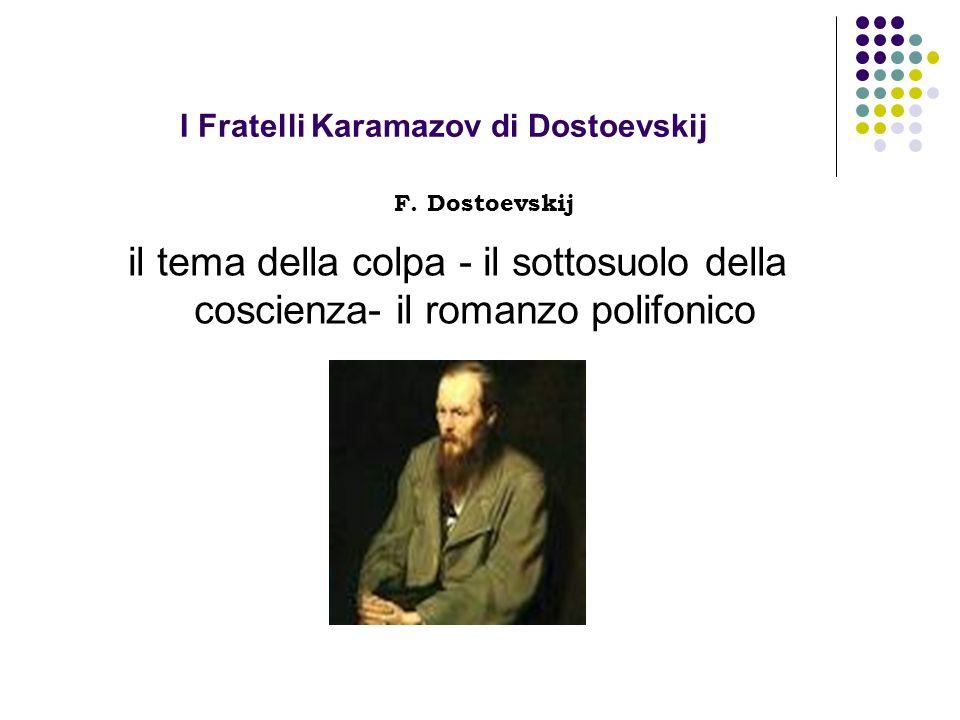 I Fratelli Karamazov di Dostoevskij