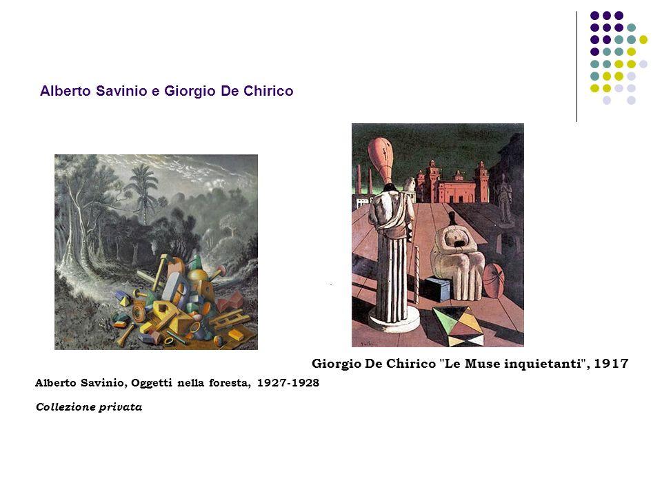 Alberto Savinio e Giorgio De Chirico