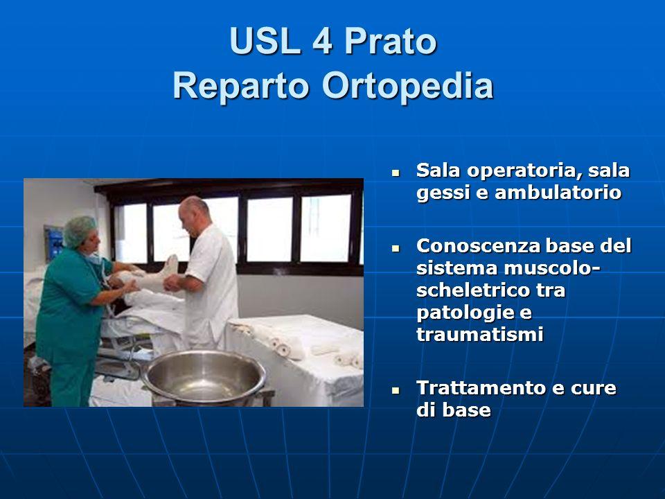 USL 4 Prato Reparto Ortopedia