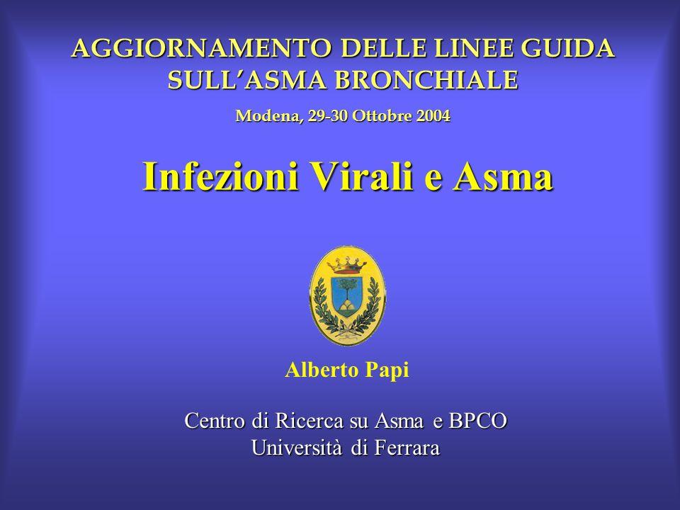 Infezioni Virali e Asma