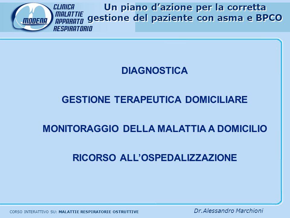 GESTIONE TERAPEUTICA DOMICILIARE