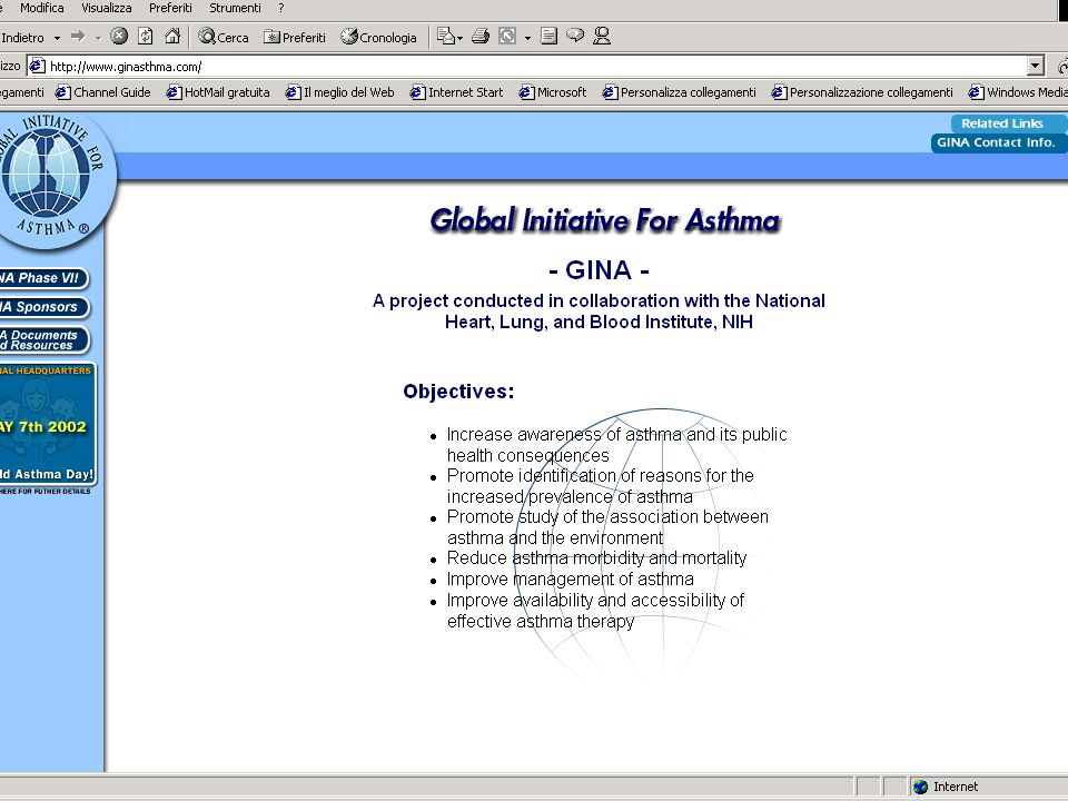 Global INitiative for Asthma