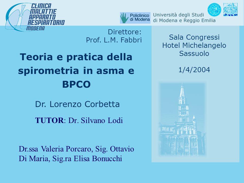 Teoria e pratica della spirometria in asma e BPCO