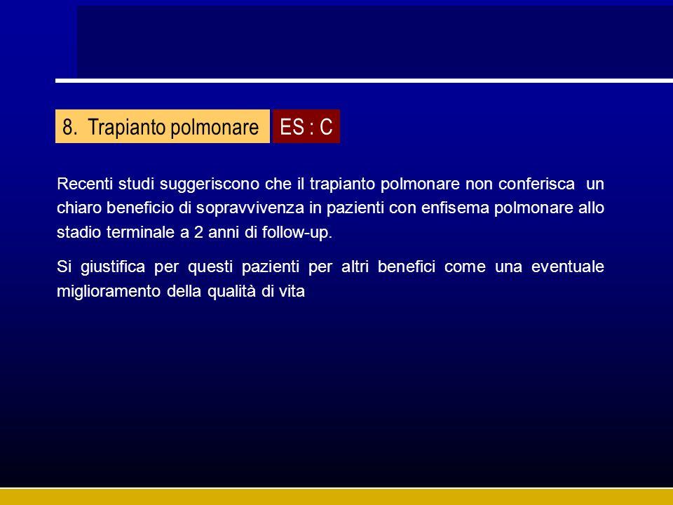 Trapianto polmonare ES : C