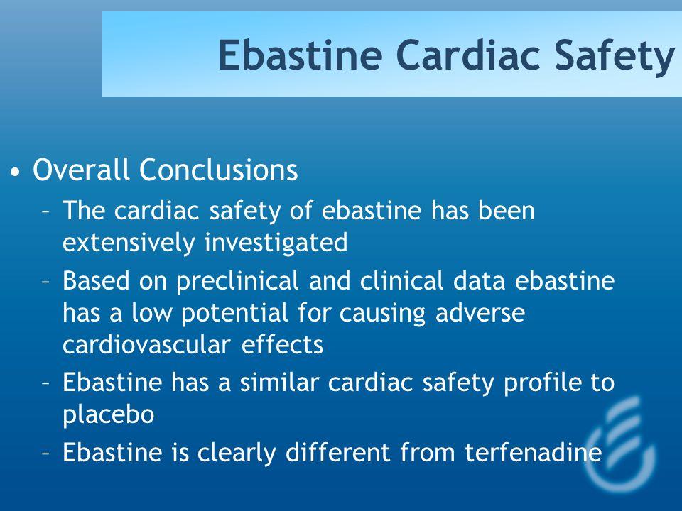 Ebastine Cardiac Safety